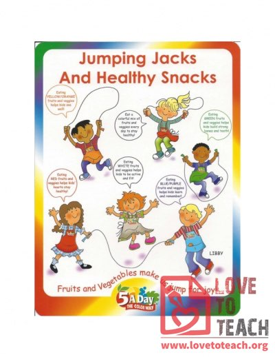 5 A Day - Jumping Jacks and Healthy Snacks