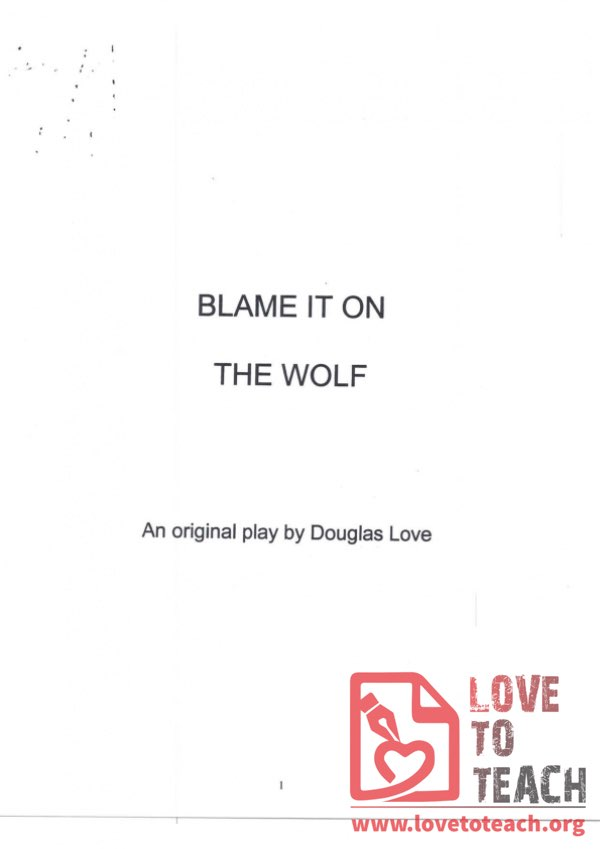 Blame it on the Wolf - Script
