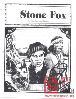 Stone Fox Vocabulary and Comprehension