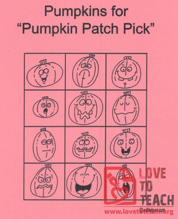 "Pumpkins for ""Pumpkin Patch Pick"""