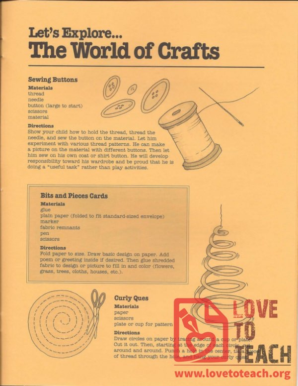 Let's Explore - The World of Crafts