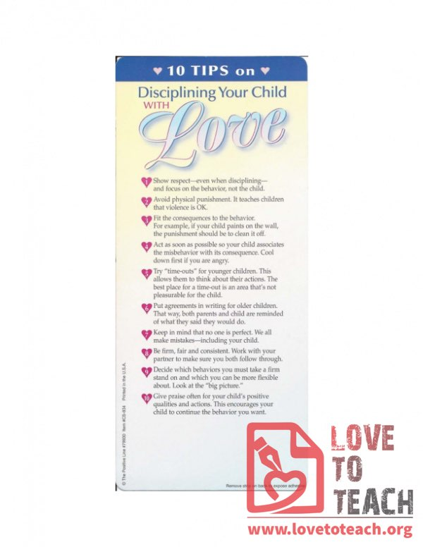 10 Tips on Disciplining Your Child With Love